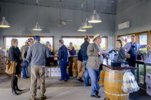 The cellar door at Two Figs WInery on a South Coast Day Tour