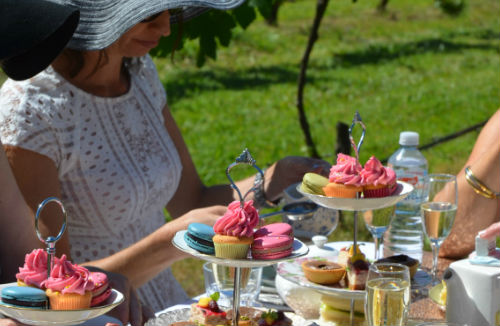 Wollongong Wine Tours - High Tea in the Vines