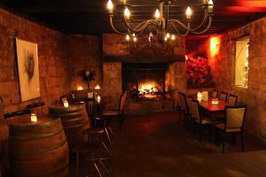 Southern Highlands Restaurant Dinner and Twilight Wine Tasting Tour by the fire at Eschalot Restaurant