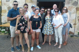 Wine Tasting at a cellar door at a Southern Highlands Winery