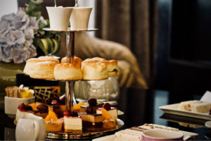 Milton Park Bowral High Tea setting