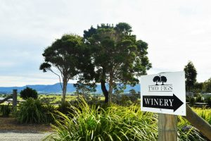 Entrance to Two Figs on a South Coast Wine Tour