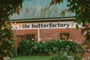 The Butter Factory Restaurant on a Berry Wine Tasting Tour