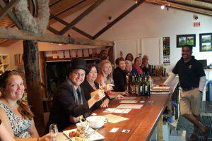 Wine Tasting at Silos Estate on a Berry Wine Tasting Tour