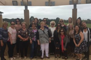 A tour group at Southern Highland Winery on a Southern Highlands Wine Tasting Tour - Things to do in Bowral